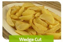 potato wedge cut