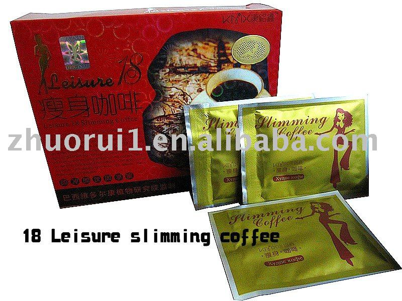 18 Leisure slimming coffee