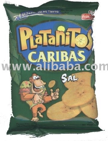 fried bananas chips/ platanitos