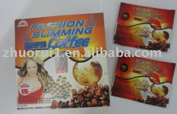 Hot sales 2011 Original & Authentic Fashion slimming coffee & free shipping