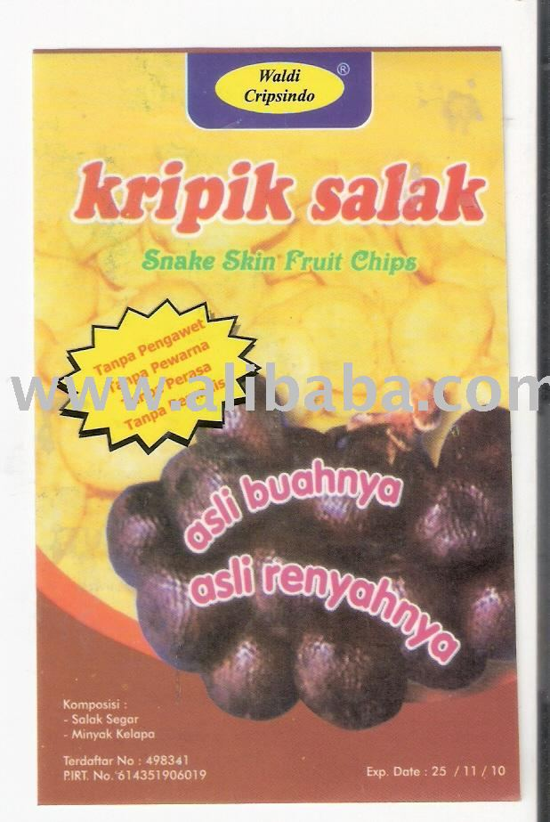 Snake Skin Fruit Chips