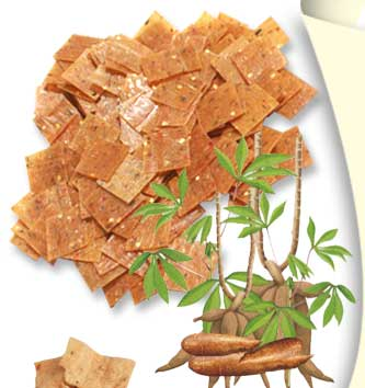 cassava crackers