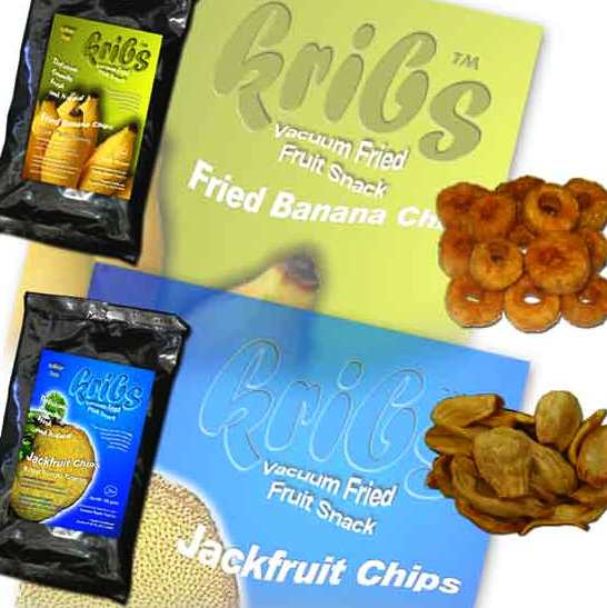 Kribs Fried Banana Chips And Kribs Fried Jackfruit Chips