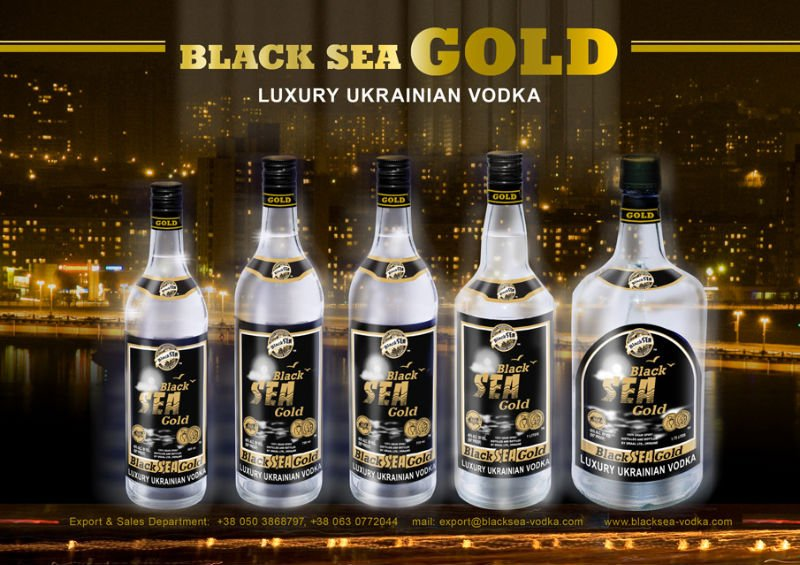 Black Sea Gold Vodka