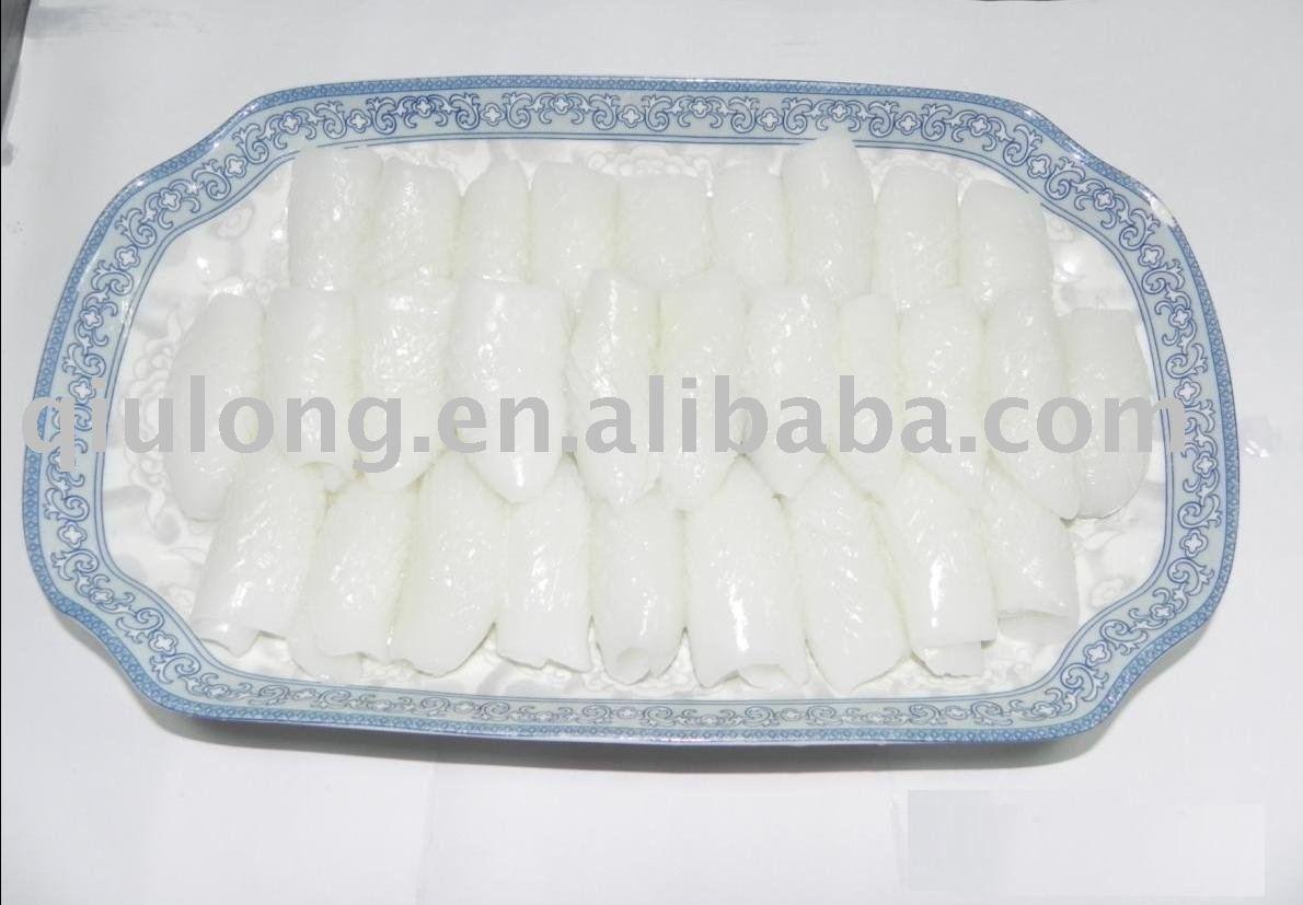 fish (cuttle fish fillets)