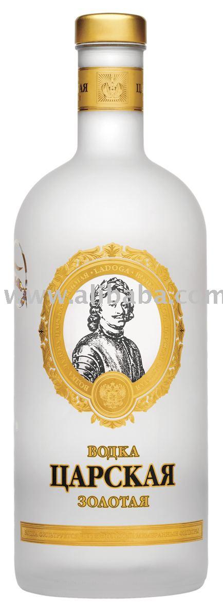 Czar Tsarskaya Zolotaya (Gold) vodka