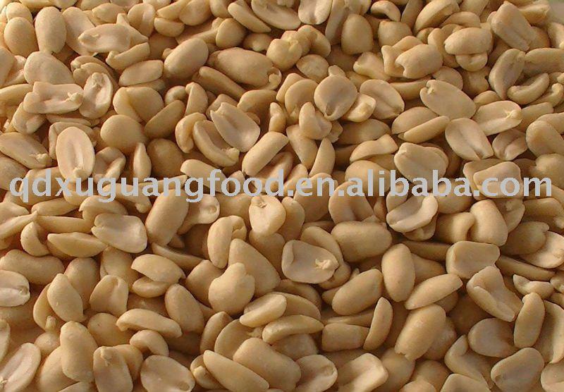 split blanched peanut kernels blanched split peanuts