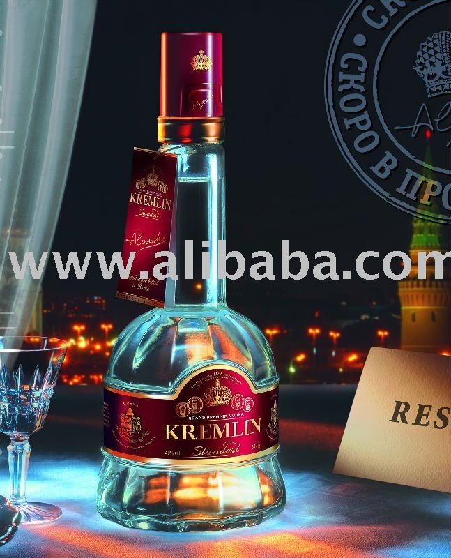 "Vodka Grand Premium ""Kremlin Standart"""
