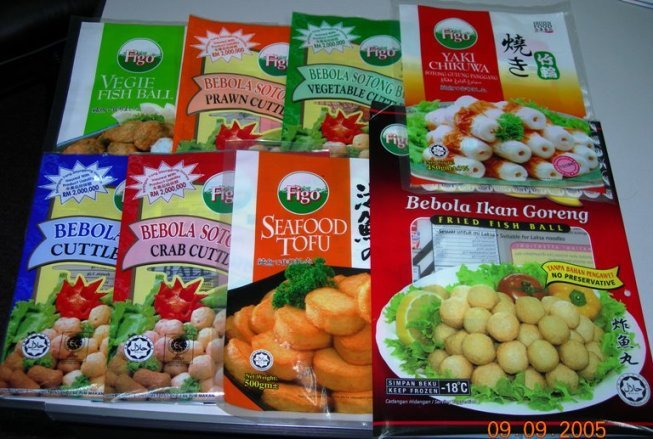Halal Frozen Fish Balls, Squid Balls