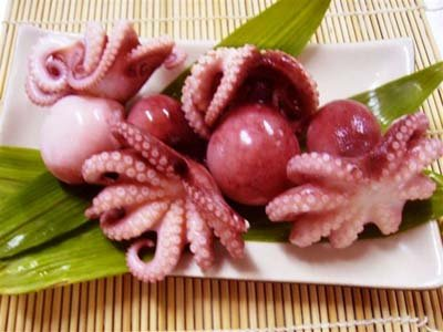 Red-up Whole Clean Baby Octopus