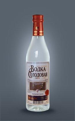 Solodovaya Lux  Vodka