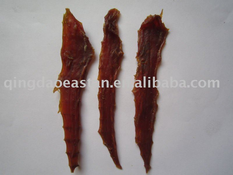 dried duck jerky pet food