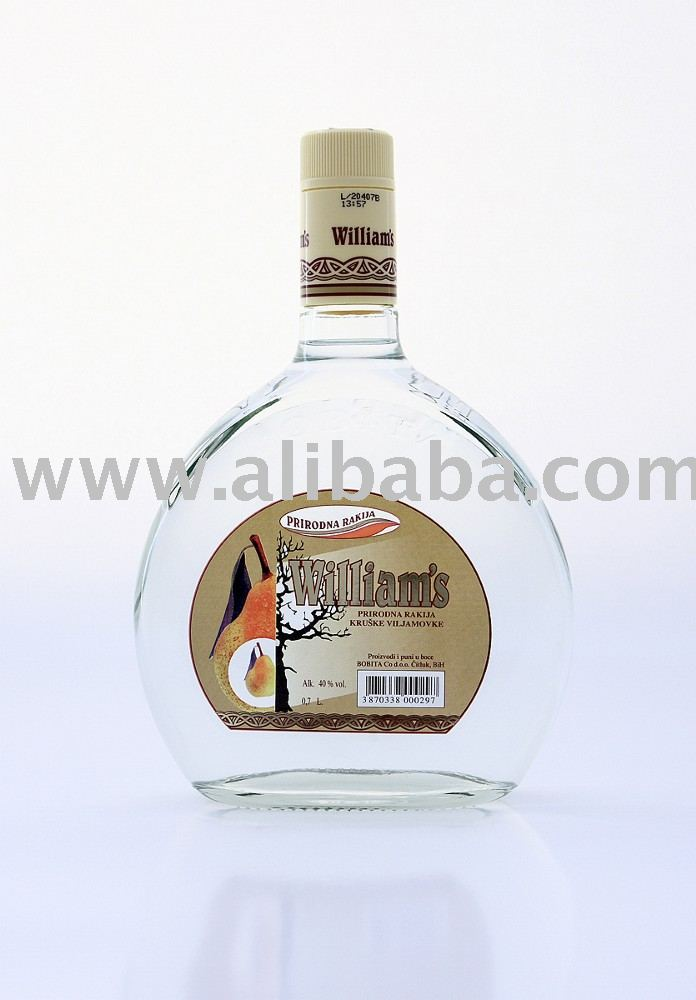 William's (Pear Brandy) liqueur