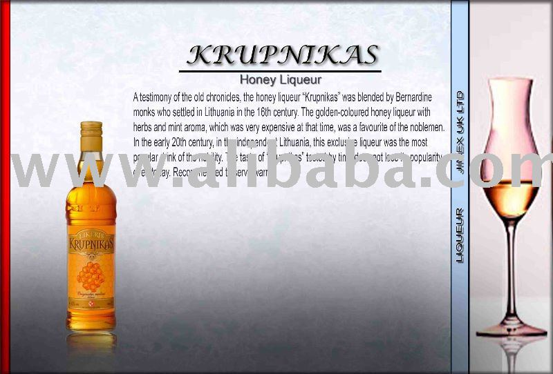 Krupnikas honey liqueur products,United Kingdom Krupnikas honey ...