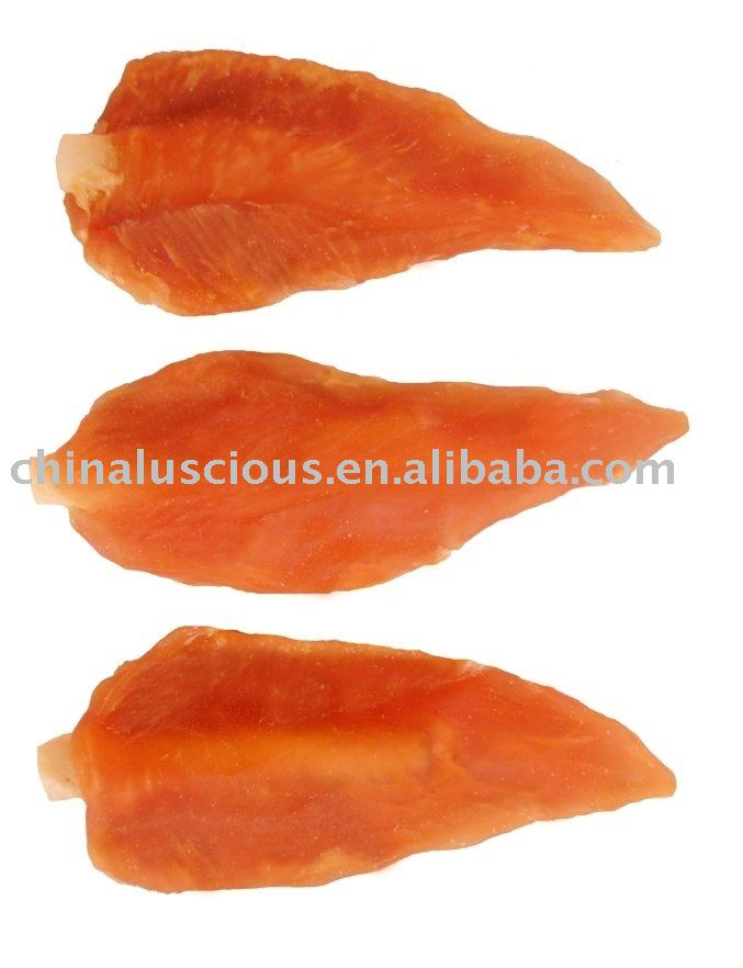 Dried Chicken on Rawhide Stick Pet Food
