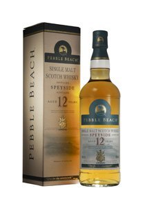 Pebble Beach 12yr Speyside Single Malt whisky