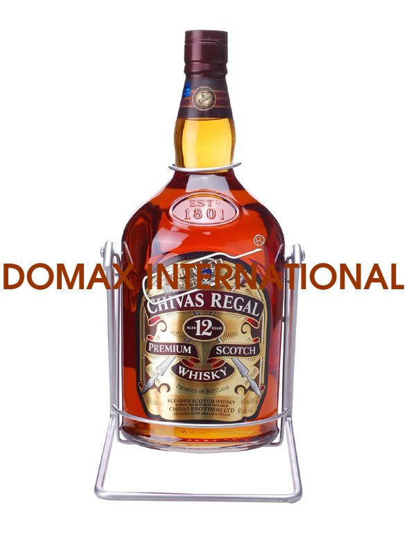 Offering Chivas Regal Premium Scotch Whisky 12Years 4500ml With Shelf