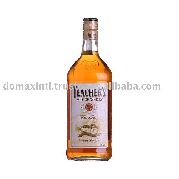 how to drink teachers whisky