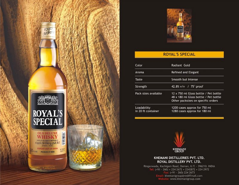Royal Special Whisky