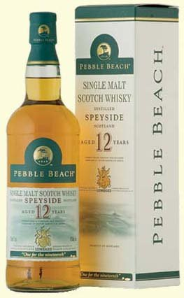 Pebble Beach 12 Year Old Speyside Single Malt Whisky