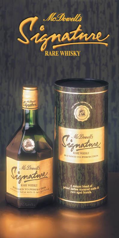 Mcdowells Signature Whisky