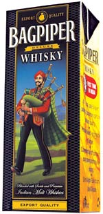 Bagpipper Whisky In Tetra Pack