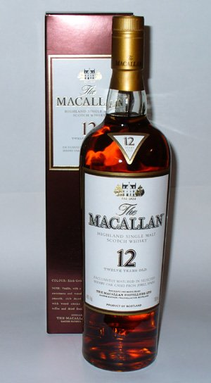 Macallan 12 year old Single Malt Whisky