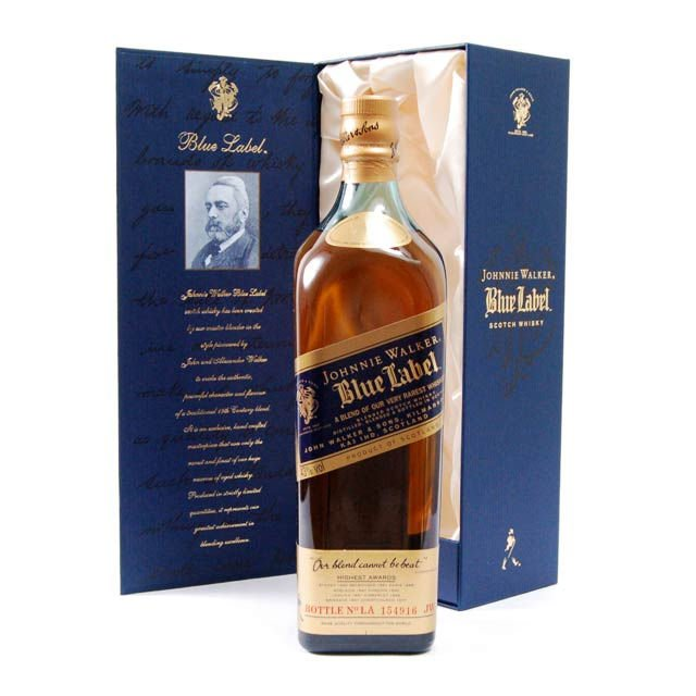 Johnnie Walker Scotch Blue Label 750ml