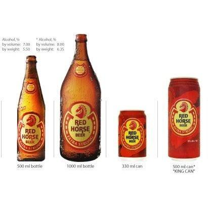 Red Horse Extra Strong Beer