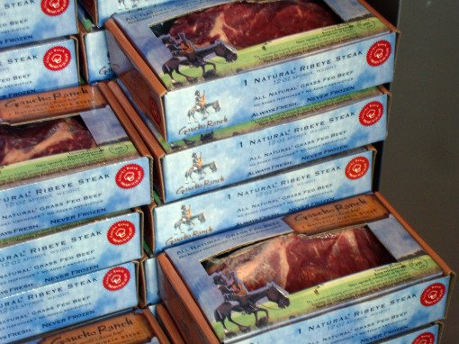 Beef - Steaks in Boxes