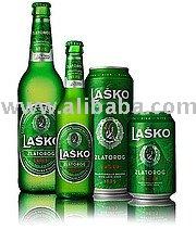 Beer Zlatorog - famous Slovenian beer -