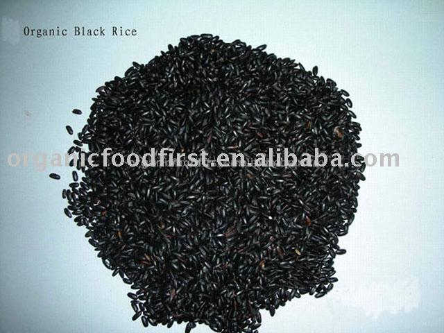 Organic Black rice powder products,China Organic Black