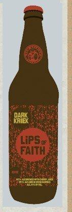 beer: Dark Kriek