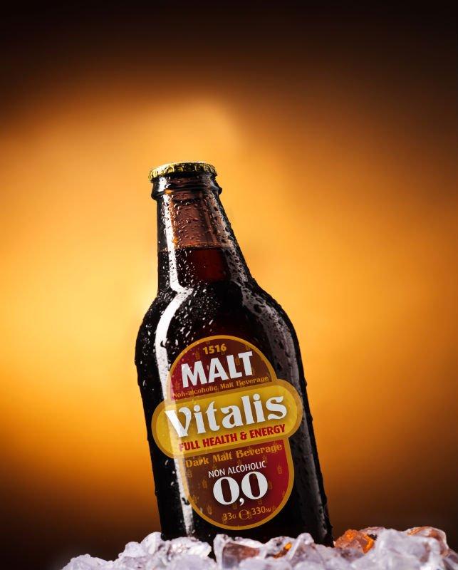 VITALIS Premium Dark Malt Beverage Non-alcoholic