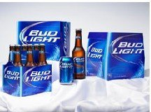 Budweiser beer     Bud Light