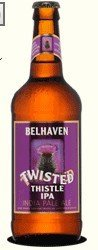 Belhaven beer      Twisted Thistle