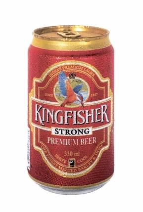 Kingfisher Strong Beer Can Products India Kingfisher Strong Beer Can