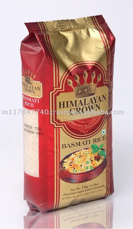 India Crown Rice Crown Premium Basmati Rice