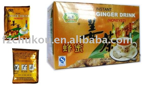 Instant Healthy Ginger Tea