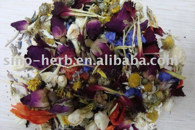 Flower  SPA  tea,   herbal bath tea--beautifies your skin
