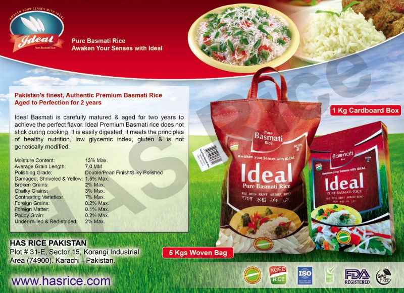 IDEAL BASMATI RICE FOR DUBAI products,Pakistan IDEAL BASMATI