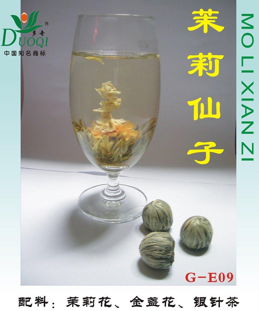 new-tech craft flower tea : mo li xian zi