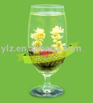 """""""Yi Jian Zhong Qing"""" blooming tea"""