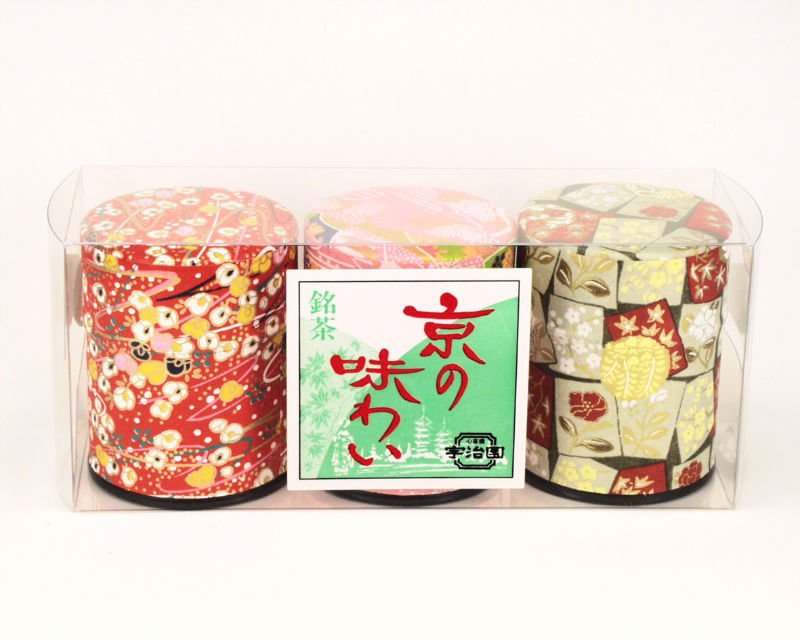 "Japanese Green Tea Set  ""Kyou no Ajiwai"""