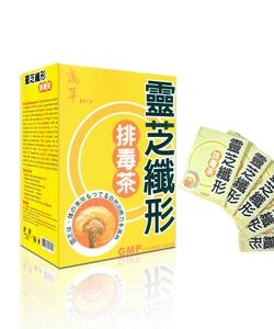 The Toxin Discharged Tea(Japan Lingzhi TOXIN Discharged Tea)