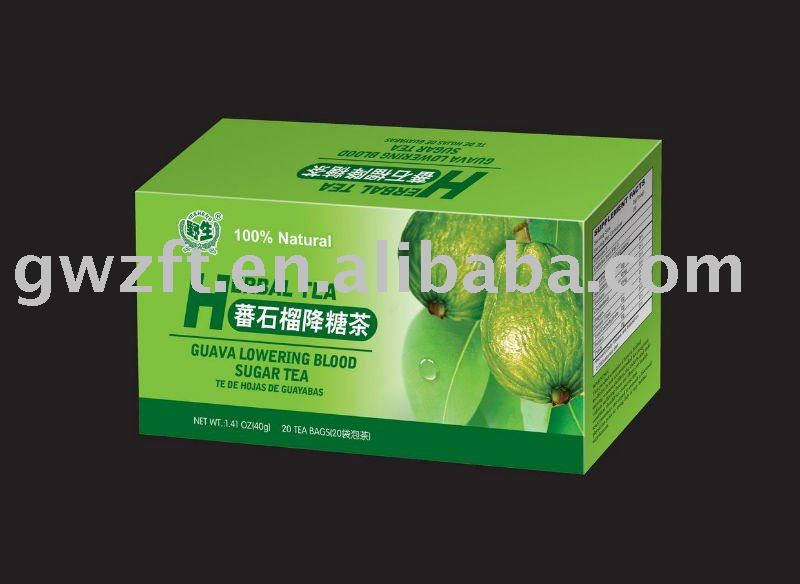 GUAVA LOWERING BLOOD SUGAR TEA