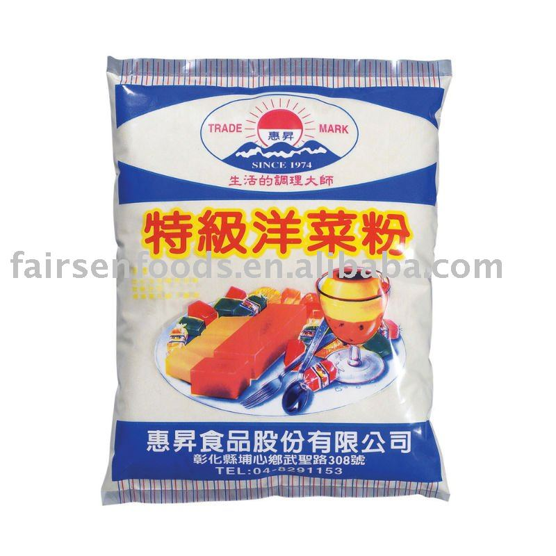 600g agar agar powder raw materials are processed snack for Agar agar cuisine