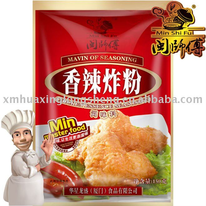 150g Frying Dressing Spicy | fried chicken powder