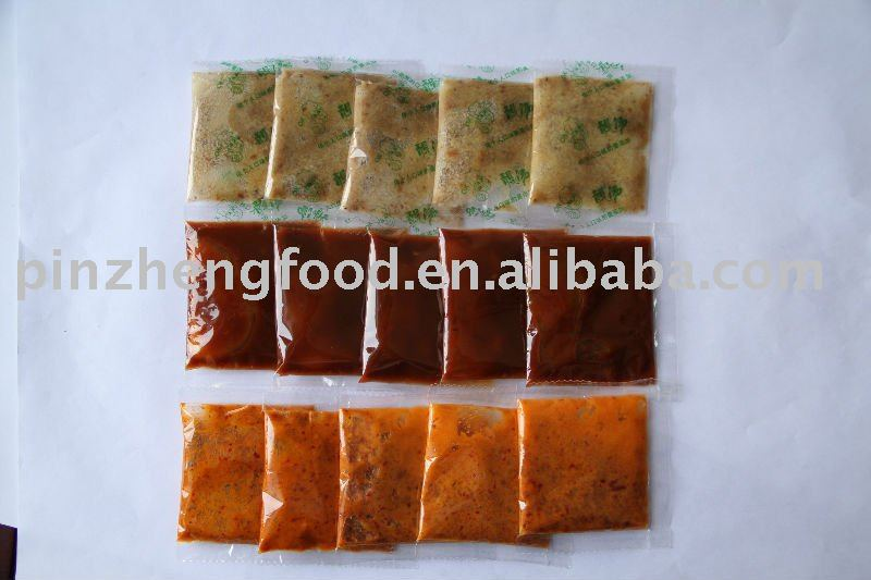 Sauce Sachets Supplier Seasoning Sauce Sachets For