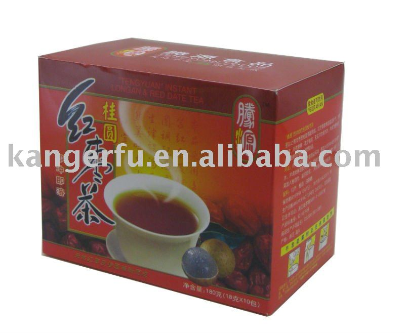 Longan red date tea ~18g x 10sachets / box~ natural instant longan red dates drink